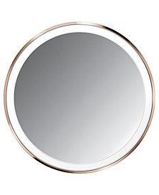 """simplehuman 4"""" Rose Gold Sensor Mirror Compact"""