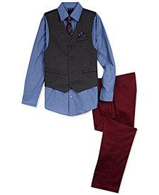 Nautica Toddler Boys Vest, Shirt & Pants Set