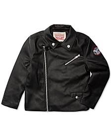 Levi's® Big Girls Faux Leather Moto Jacket