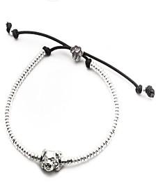 Cavalier King Charles SpanielHead Bracelet in Sterling Silver