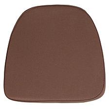 Soft Brown Fabric Chiavari Chair Cushion