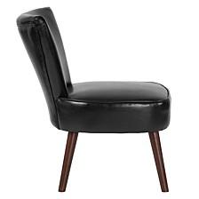 Hercules Holloway Series Black Leather Retro Chair