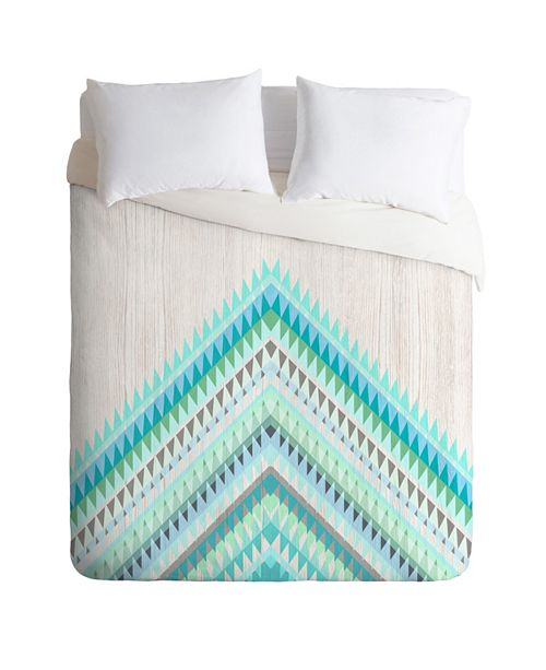 Deny Designs Iveta Abolina Mint Icicle King Duvet Set