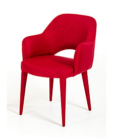 Modrest Williamette Modern Fabric Dining Chair