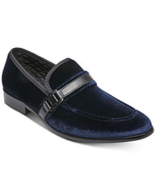 Steve Madden Men's Macklin Velvet Smoking Slippers