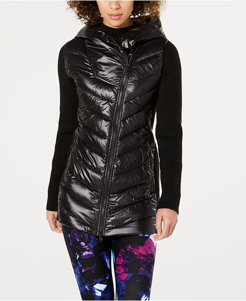 be7c5e441fe Calvin Klein Asymmetrical Puffer Jacket  Calvin Klein Asymmetrical Puffer  Jacket ...