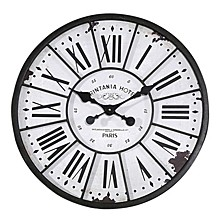 Turn of The Century Style Wall Clock