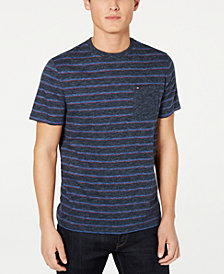 Tommy Hilfiger Men's Saxon Indigo Stripe T-Shirt