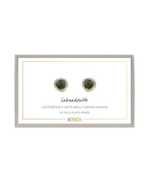 KITSCH Guiding Gems Earrings in Labadorite