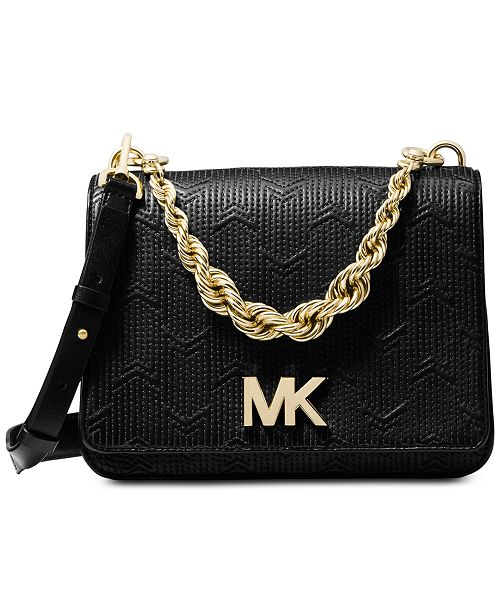 6f3192ff5a5c Michael Kors Mott Chain Shoulder Bag   Reviews - Handbags ...