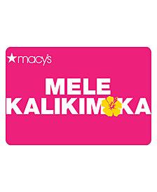 Mele Kalikimaka E-Gift Card