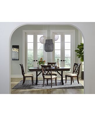 Furniture Baker Street Dining Furniture Collection Furniture Macy S