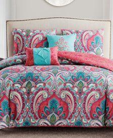 Casa Re`al Reversible 5-Pc. Full/Queen Comforter Set