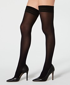 495c0eebf Wolford Velvet De Luxe 50 Stay-Up Thigh-High Hosiery