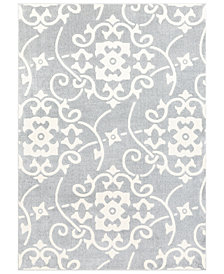 Surya Horizon HRZ-2305 Medium Gray 2' x 3' Area Rug