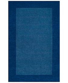 "Surya Mystique M-308 Dark Blue 3'3"" x 5'3"" Area Rug"