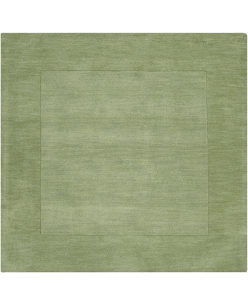 Surya Mystique M-310 Grass Green 8' Square Area Rug
