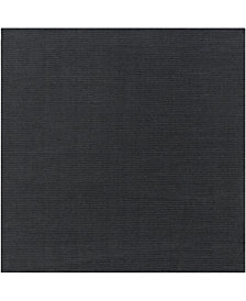 Surya Mystique M-341 Charcoal 8' Square Area Rug