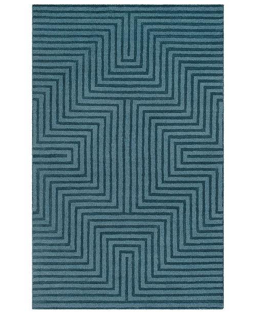 Surya Mystique M-5466 Charcoal 2' x 3' Area Rug