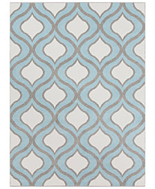 "Surya Horizon HRZ-1036 Denim 3'3"" x 5' Area Rug"