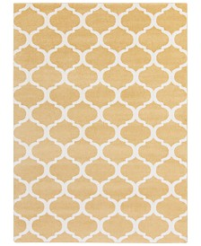 "CLOSEOUT! Surya  Horizon HRZ-1077 Wheat 7'10"" x 10'3"" Area Rug"