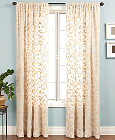 "CLOSEOUT! Softline Sheer Belinda 55"" x 120"" Panel"