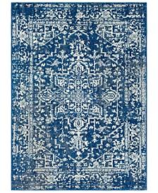 "Harput HAP-1022 Dark Blue 7'10"" x 10'3"" Area Rug"