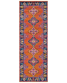 "Surya Harput HAP-1036 Burnt Orange 2'7"" x 7'3"" Area Rug"