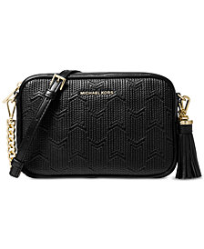 Michael Kors Quilted Detail Camera Bag