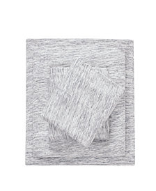 Urban Habitat Space Dyed Queen Cotton Jersey Knit Sheet Set