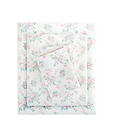 Floral Full Comfort Wash Cotton Sheet Set