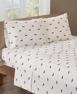 HipStyle Printed Queen Cotton Sheet Set Bedding