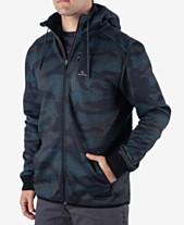 2a05b9b8122 Rip Curl Men s Departed Anti Series DWR Hooded Jacket