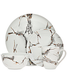 Godinger Rayo 16-Pc. Dinnerware Set, Service for 4