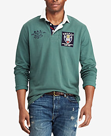 Polo Ralph Lauren Men's Classic Fit Mesh  Rugby Shirt