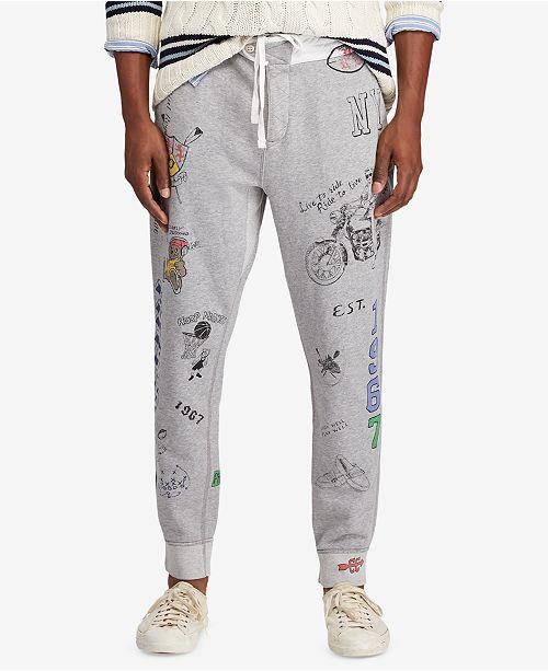 a36099335c2e Polo Ralph Lauren Men s Graphic Jogger Pants  Polo Ralph Lauren Men s  Graphic Jogger ...