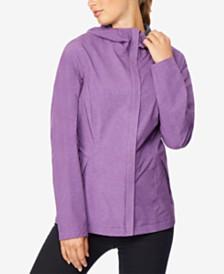 32 Degrees Water-Resistant Hooded Raincoat