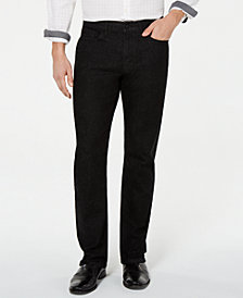 Kenneth Cole New York Mens Straight-Fit Jeans