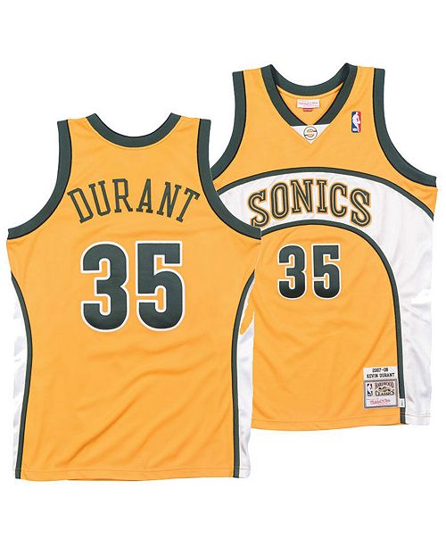 ... Mitchell   Ness Men s Kevin Durant Seattle SuperSonics Authentic Jersey  ... 6e527caa0