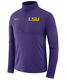 Nike LSU Tigers NCAA Men's Element Quarter Zip Pullover