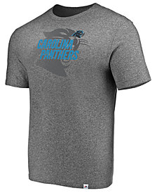 Majestic Men's Carolina Panthers Static Fade T-Shirt