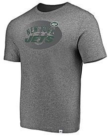 Majestic Men's New York Jets Static Fade T-Shirt