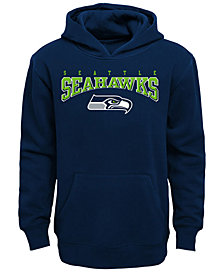 Outerstuff Seattle Seahawks Fleece Hoodie, Big Boys (8-20)