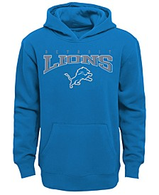 Detroit Lions Fleece Hoodie, Big Boys (8-20)