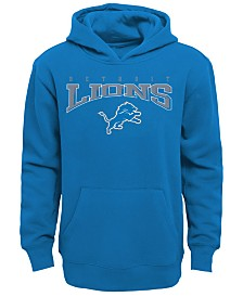 Outerstuff Detroit Lions Fleece Hoodie, Big Boys (8-20)
