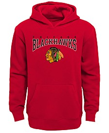 Outerstuff Chicago Blackhawks Fleece Hoodie, Big Boys (8-20)