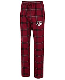 Concepts Sport Men's Texas A&M Aggies Homestretch Flannel Pajama Pants
