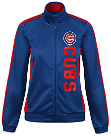 G-III Sports Women's Chicago Cubs Outfield Track Jacket