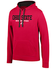 Top of the World Men's Ohio State Buckeyes Element Poly Hooded Sweatshirt