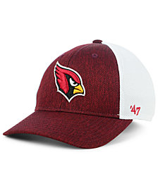 '47 Brand Arizona Cardinals Hazy Flex CONTENDER Stretch Fitted Cap